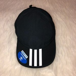 NWT ADIDAS Black Adjustable Baseball Hat